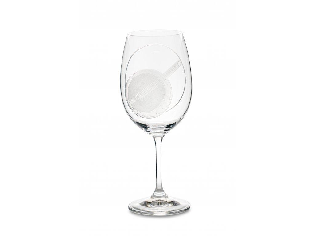 Sklenice na víno BANJO, 450 ml