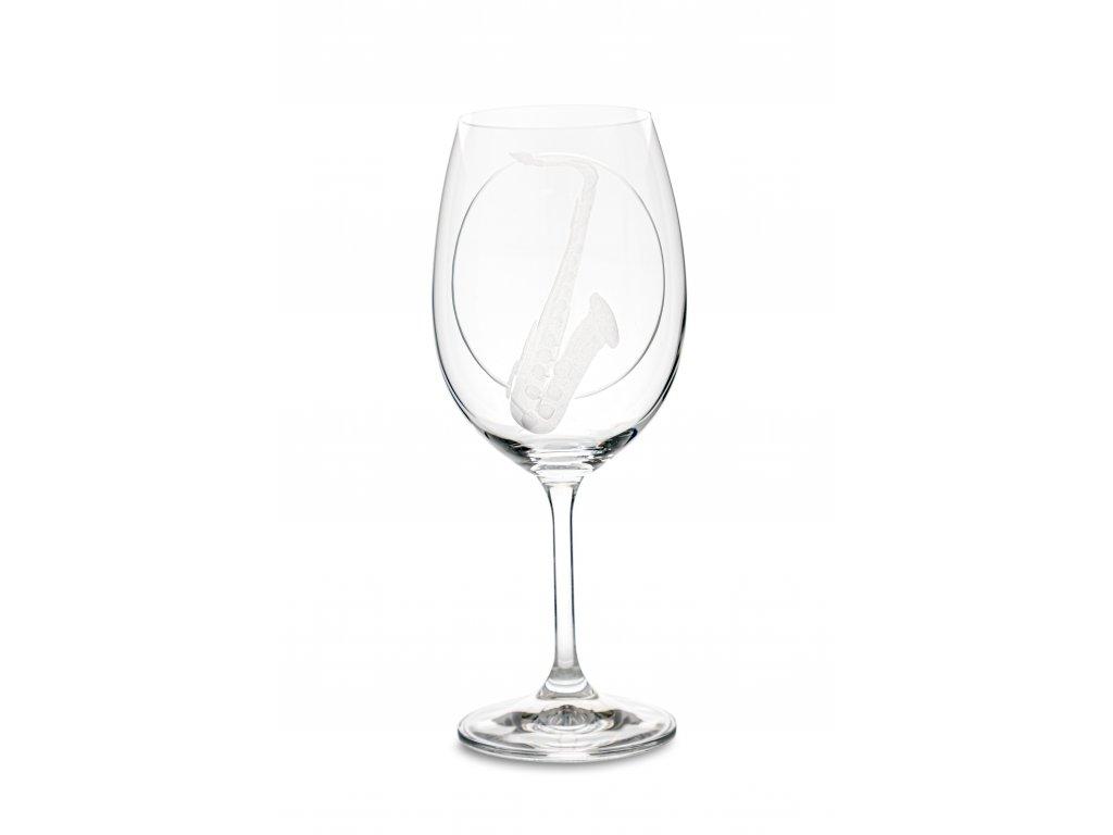 Sklenice na víno SAXOFON, 450 ml