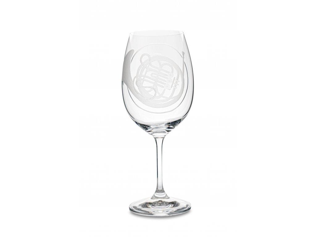 Sklenice na víno LESNÍ ROH, 450 ml