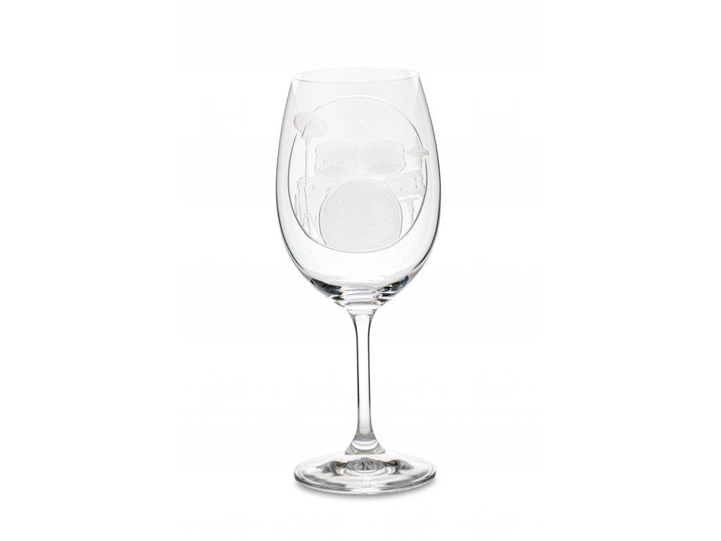 Sklenice na víno BUBNY, 450 ml