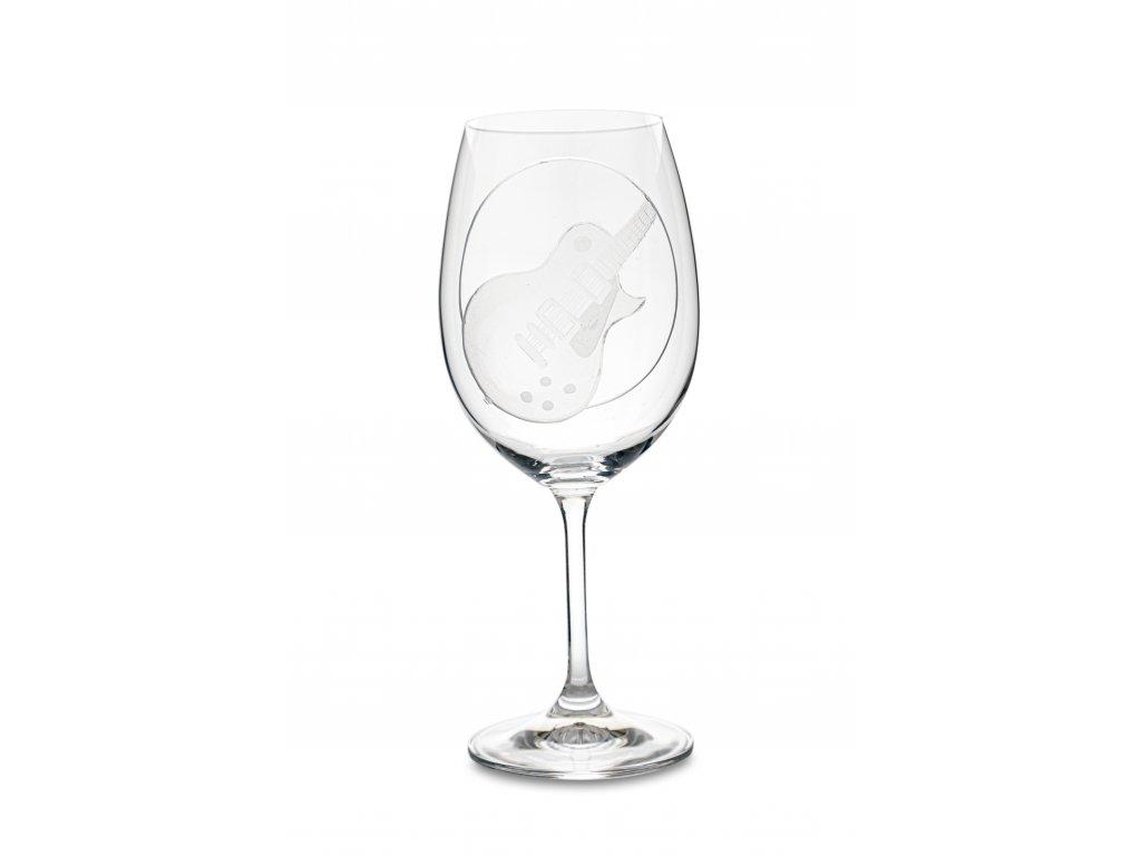 Sklenice na víno EL. KYTARA LES PAUL, 450 ml