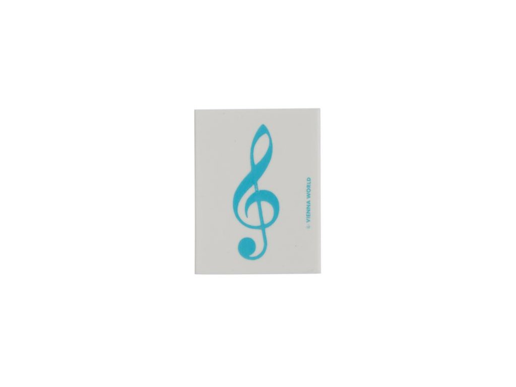 Guma houslový klíč modrý