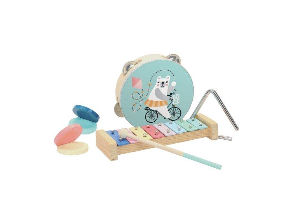 hudební nástroje medvídek