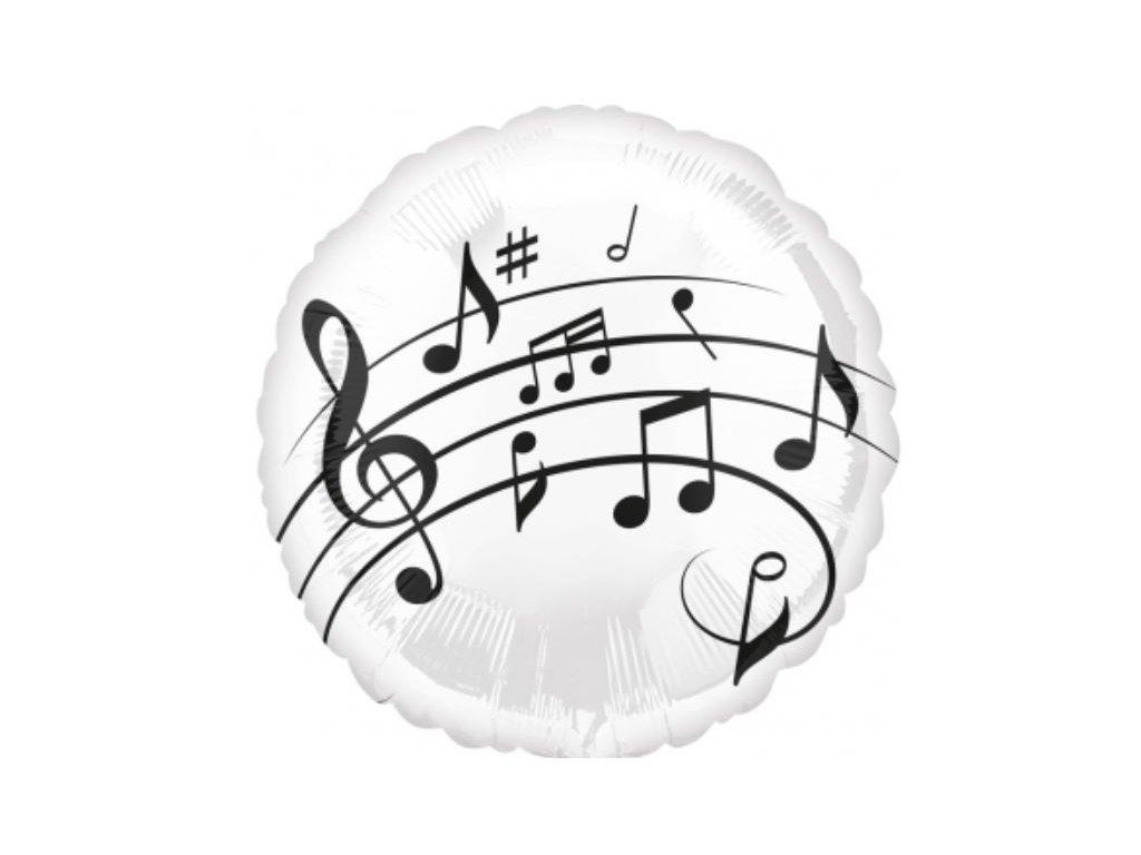 fóliový balónek hudba