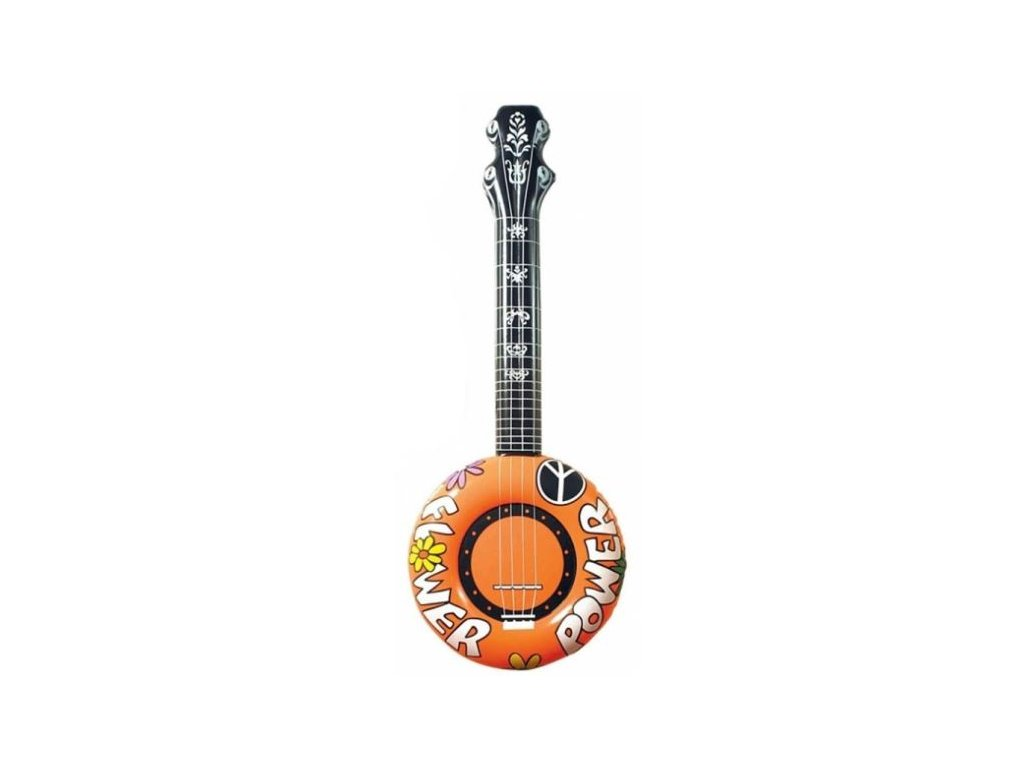 Nafukovací banjo, oranžové