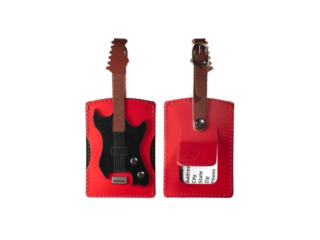 Jmenovka na kurf basová kytara