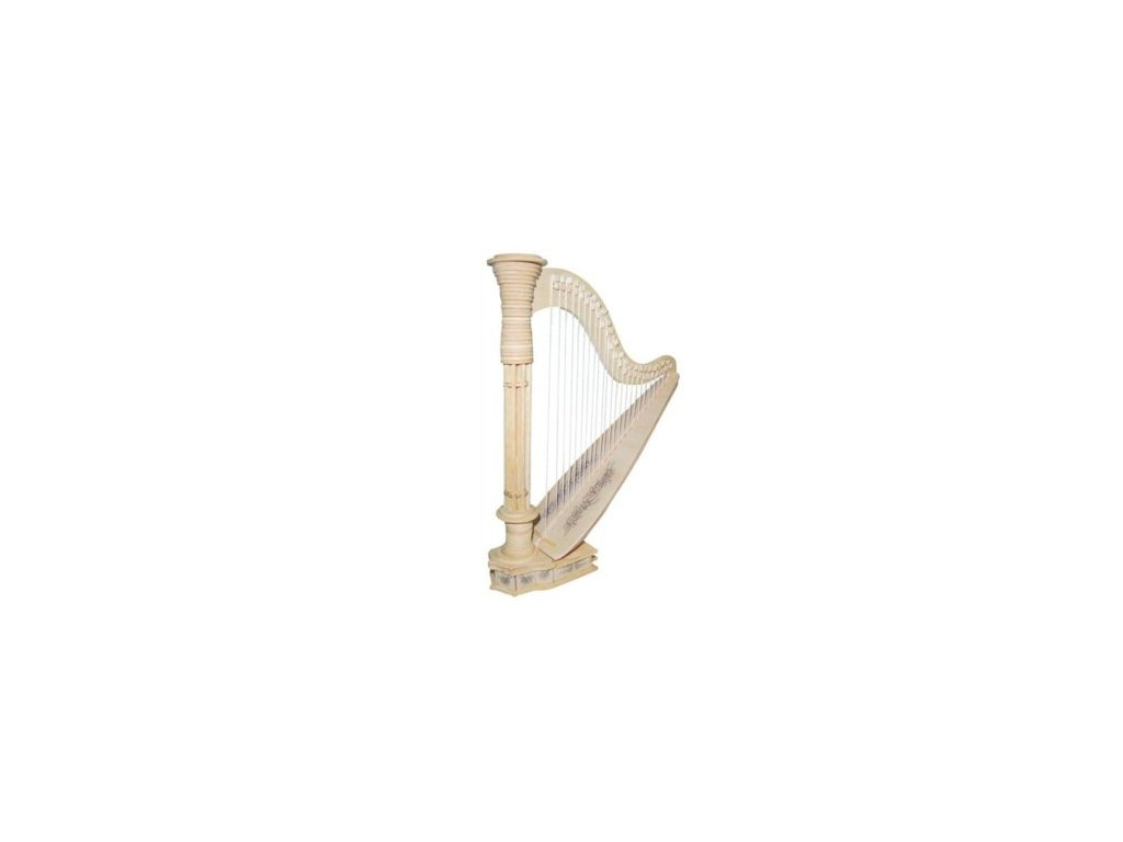 Dřevěné 3D puzzle - HARFA