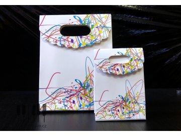 Dárková taštička s barevnými notami MAGICO - M