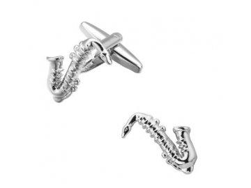 manžetové knoflíčky saxofon 2