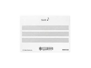lepící bloček partitura