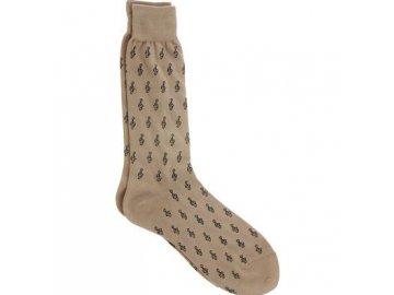 ponožky pánské s houslovými klíči