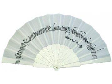 Vějíř partitura W.A.Mozart
