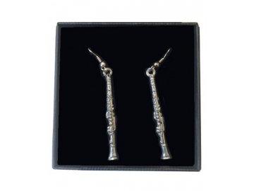 náušnice klarinet