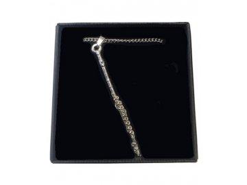 náhrdelník příčná flétna