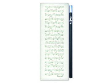 magnetický bloček partitura