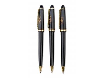 kuličkové pero houslový klíč, černé