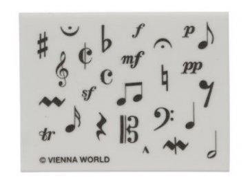 guma hudební symboli