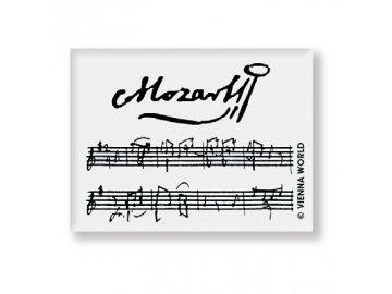 Guma s partiturou Mozart
