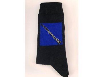 ponožky s klarinetem