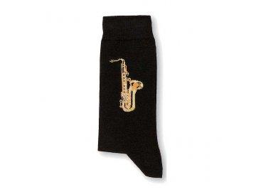 ponožky saxofon