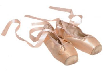 pohlednice baletní špičky