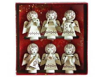 vánoční andělíčci hudební nástroje