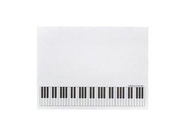 lepící poznámkový bloček Klaviatura