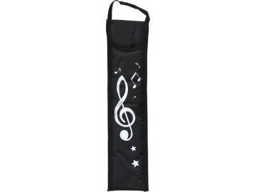 obal na flétnu houslový klíč