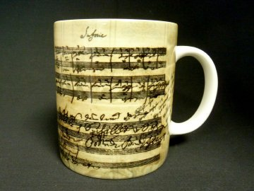klasický hrnek partitura beethoven