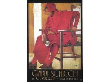 pohlednice Gianni Schicchi