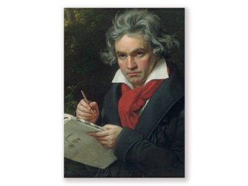 pohlednice Beethoven