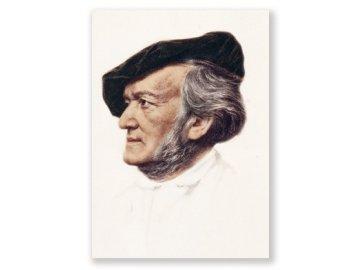 pohlednice wagner portret