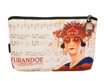 kosmetická taštička opera Turandot, Puccini, hudební skladatel