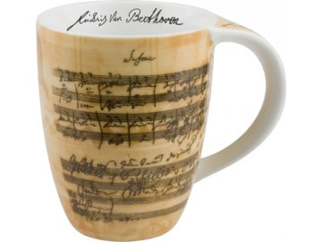 Hrnek s partiturou Beethoven