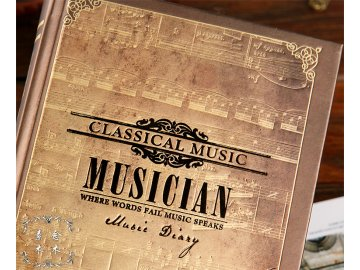 Deník MUSICIAN - malý