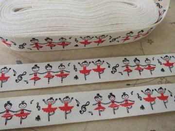 bavlněná stuha baletka