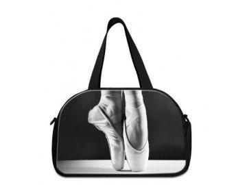 sportovní taška MUSIC baletní špičky