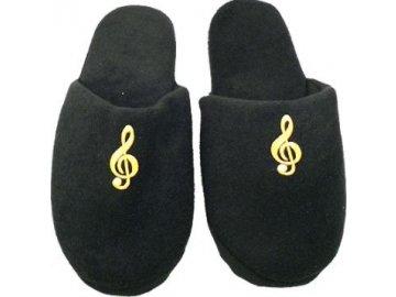 pantpfle houslový klíč černé