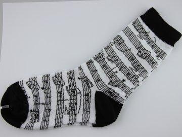 dětské ponožky partitura