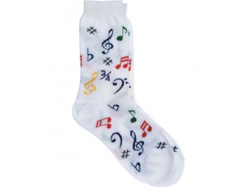 dětské ponožky hudba barevné