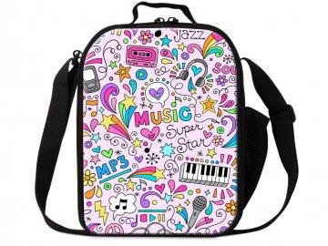 taška přes rameno hudební nástroje