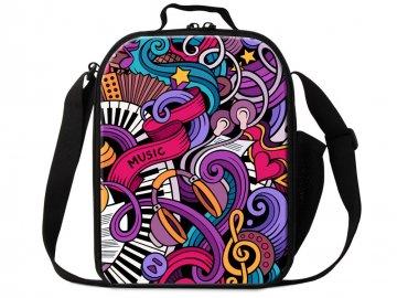 taška přes rameno music hearts