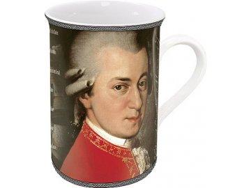 Hrnek s portrétem W. A. Mozarta