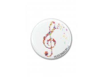 magnet Houslový klíč barevný