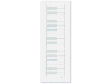 poznámkový blok klaviatura