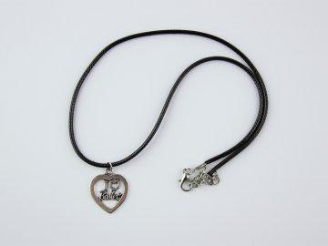 náhrdelník I love balet