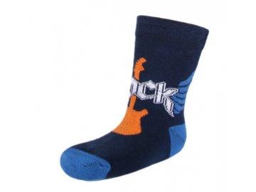 dětské ponožky Rock, modré