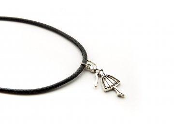 náhrdelník baletka tanečnice