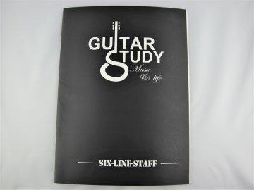 Notový sešit pro kytaru