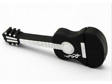 USB Flash disk 8GB kytara klasická černá
